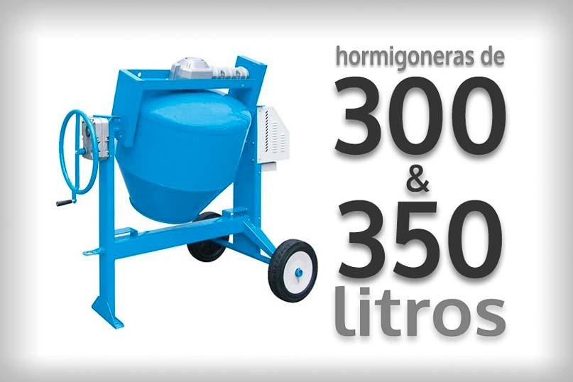 Hormigonera electrica 300 litros 350 litros